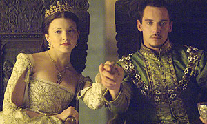 Jonathan Rhys Meyers as King Henry VIII and Natalie Dormer as Anne Boleyn © 2008 CPT Holdings, Inc