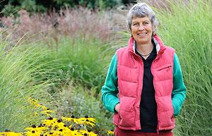 Pauline Pears at Garden Organic Ryton