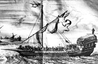 North African pirate ship