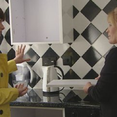 Kitchens For Less Black Cabinets Kitchen Bbc X Ray 4 Linda Wright With S Rachel Treadaway Williams