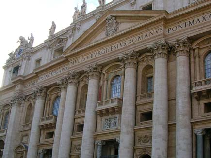 BBC  Religion  Ethics  In pictures The Vatican
