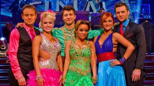 Jason, Kristina; Pasha, Chelsee; Harry, Aliona
