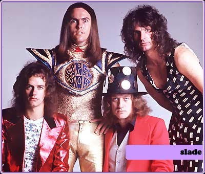 Slade as they were in the Seventies