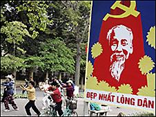 Áp phích mừng Đại hội Đảng