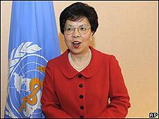 Margaret Chan, titular de la Orgaización Mundial de la Salud.
