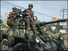 Militares, Tegucigalpa