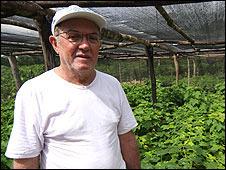 Edson Teofilo, director del proyecto Agrobrasil Bioenergía en el estado de Piauí, Brasil