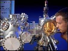 Microscopio de fuerza atómica (ATM) (IBM Zurich)