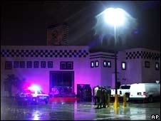 Escena del crimen en Ciuda Juárez, Chihuahua