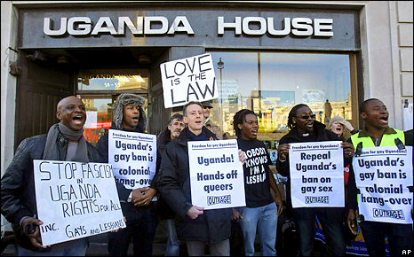 Against homosexuality in uganda