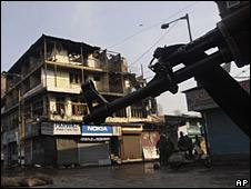 Asalto a un hotel en Srinagar