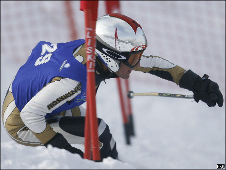 Mohammad Abbas, Olympic Skier