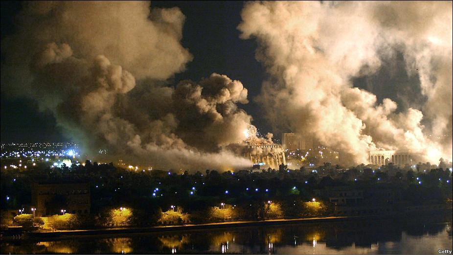 Resultado de imagen de invasion de irak en 2003