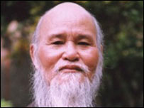 Hòa Thượng Th�ch Quảng Độ hiện đang bị quản chế ở Thanh Minh Thiền Viện