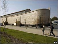 Réplica da Arca de Noé na Holanda