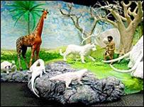 Kentucky yaradılış müzesinden bir resim