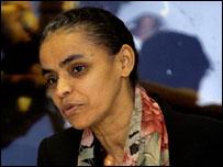 Ex-ministra do Meio Ambiente, Marina Silva, deixou o governo Lula alegando falta de apoio político
