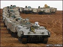 Tank milik Israel