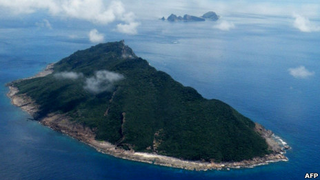 BBC中文網 - 國際新聞 - 兩名日本人登陸釣魚島對抗中國保釣
