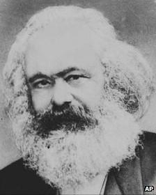 Foto de Karl Marx