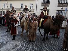 Celebración del Día de Reyes en la República Checa
