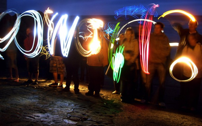 Painting With Light At Potwalloping Festival