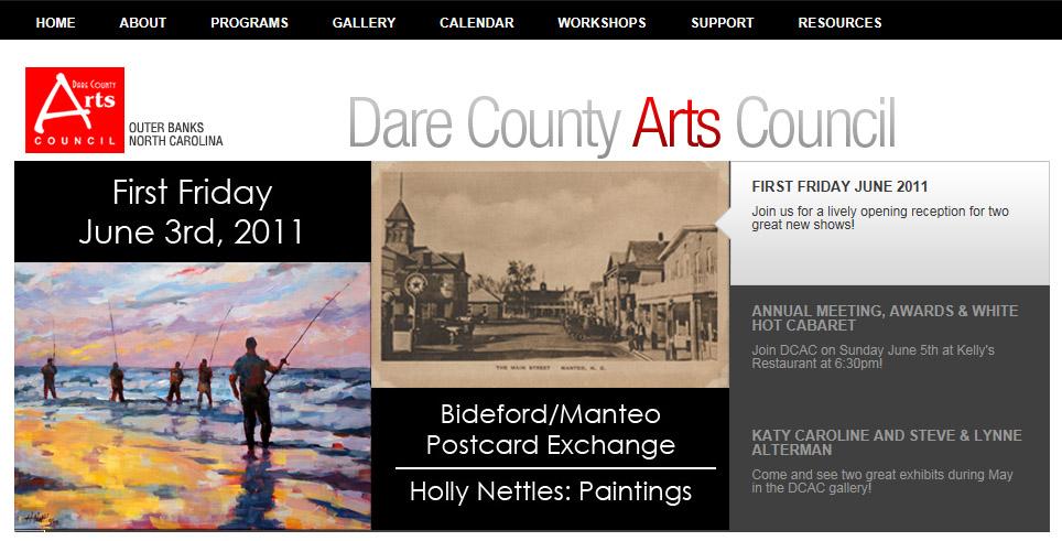 Dare County Arts Council Gallery