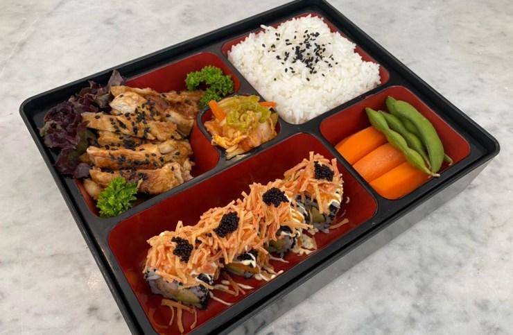 Sumo Sushi & Bento, The Fashion Meal by Josh Yugen