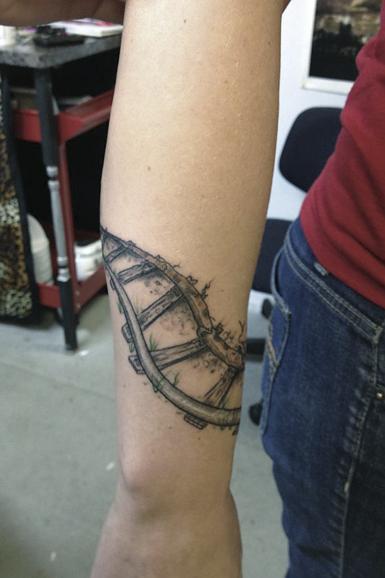 Railroad Tattoos  part 4