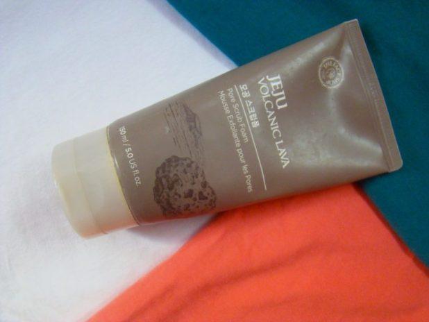 The Face Shop Jeju Volcanic Lava Scrub Foam Review Price Photos