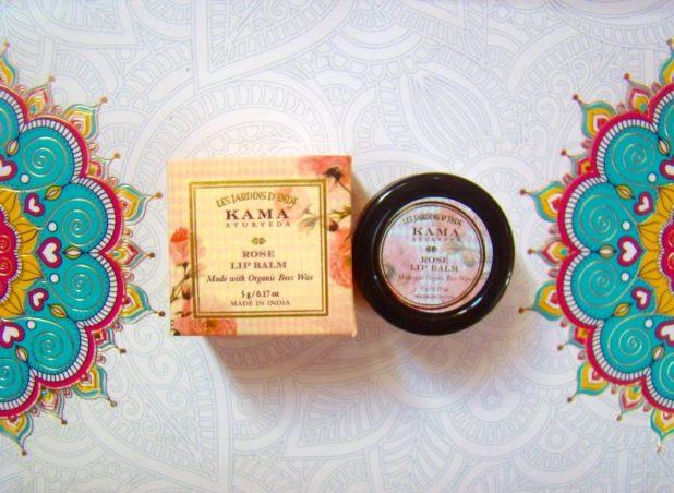 Kama Ayurveda Rose Lip Balm REVIEW PRICE PHOTOS