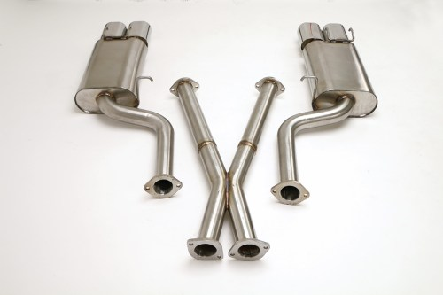 small resolution of nissan 300zx twin turbo cat back exhaust system 2 1 2 oval tips fpim 0035