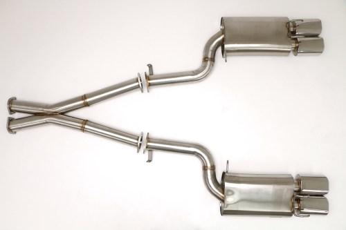 small resolution of nissan 300zx twin turbo cat back exhaust system 3 oval tips fpim 0040