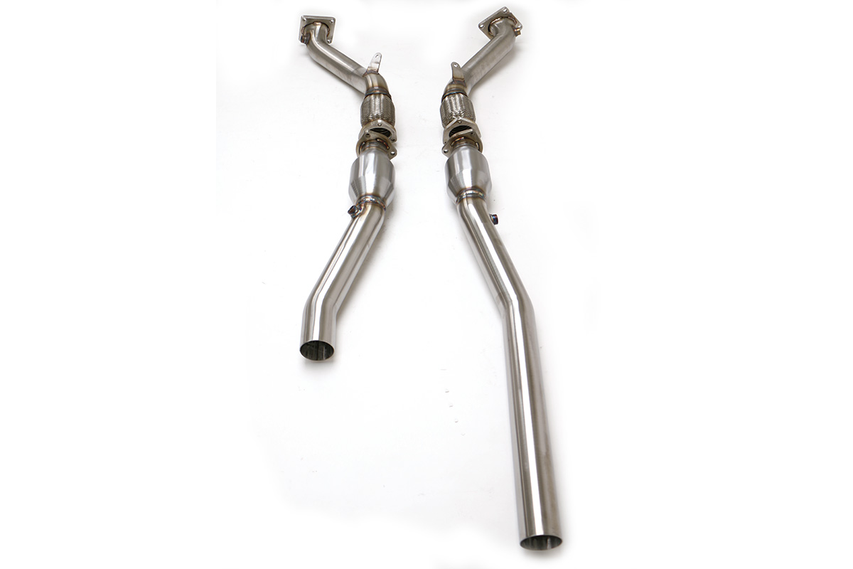 Audi B5 S4 Downpipes with High Flow Cats 2.7T (Manual) #
