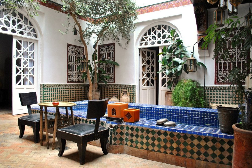 marrakech terrace oliviers