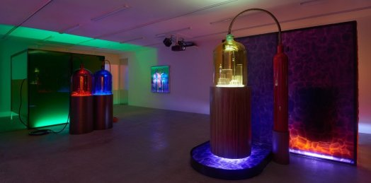 Mike Kelley – Kandors (2016) - Adam Lindemann Installation