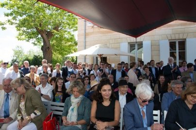 jean nouvel art russe grand opening saint emilion crowd
