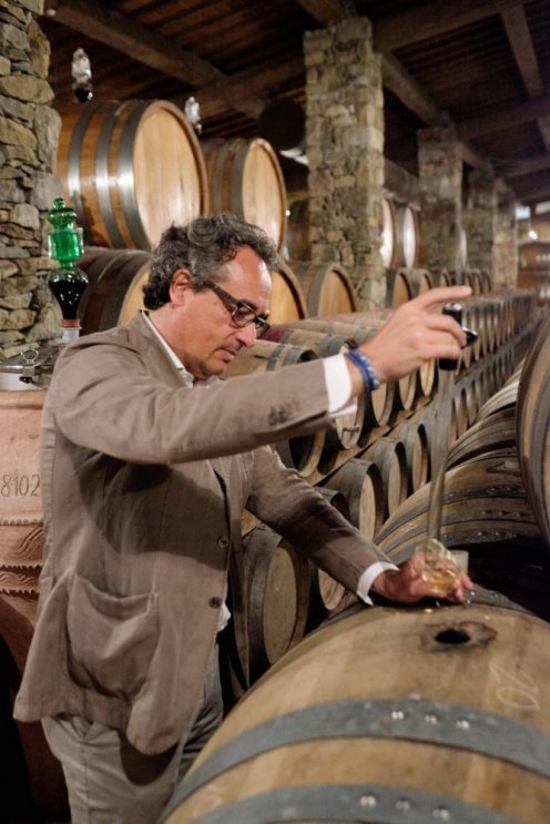 la vialla wine testing