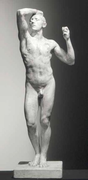 gary snell rodin plaster the age of bronze