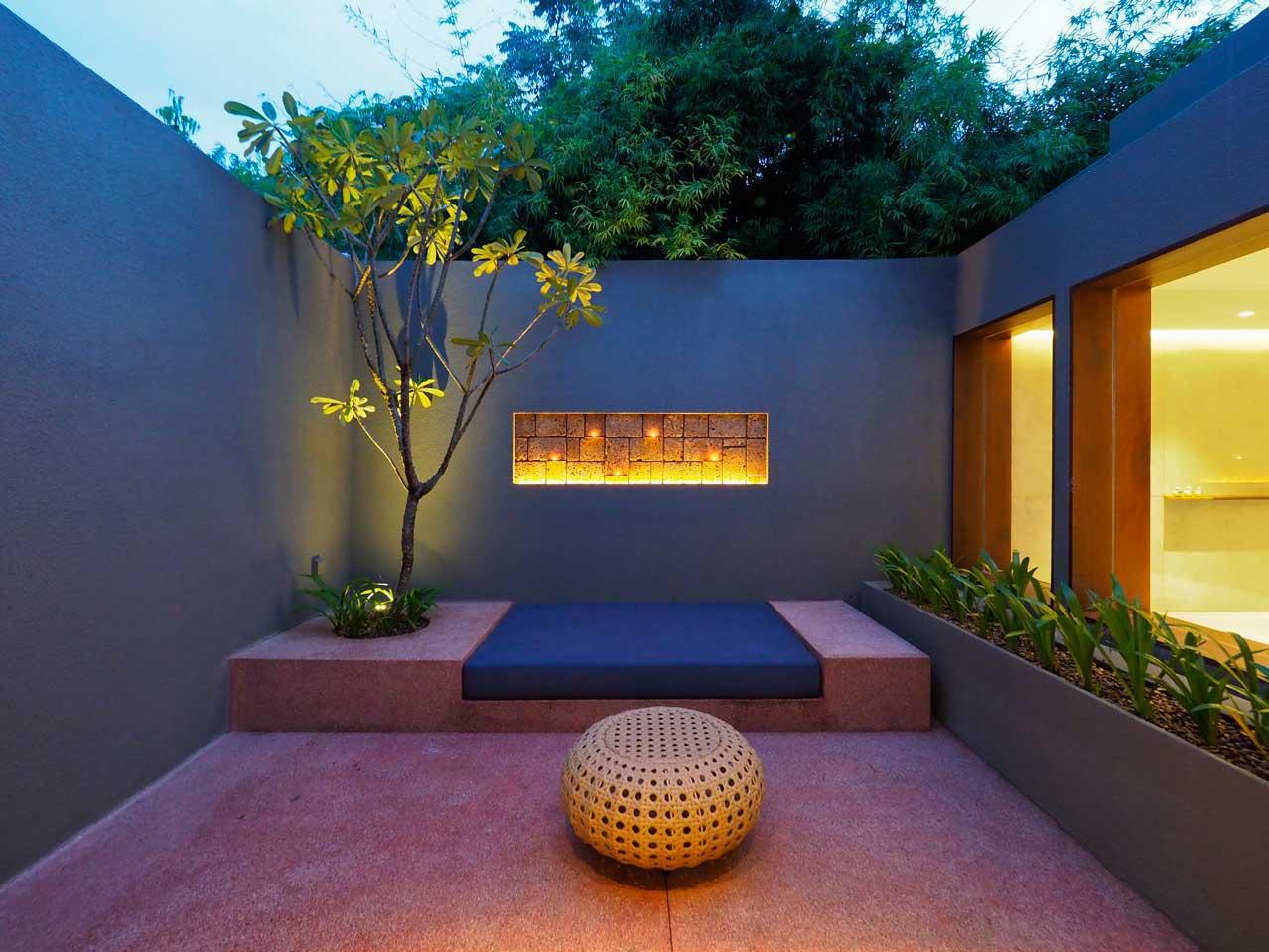 the bale phnom penh cambodia courtyard suite private garden