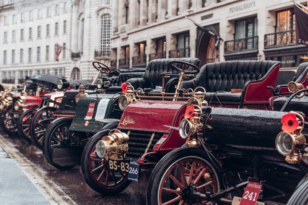 Illinois Route 66 Regent Street Motor Show 1903 cadillac