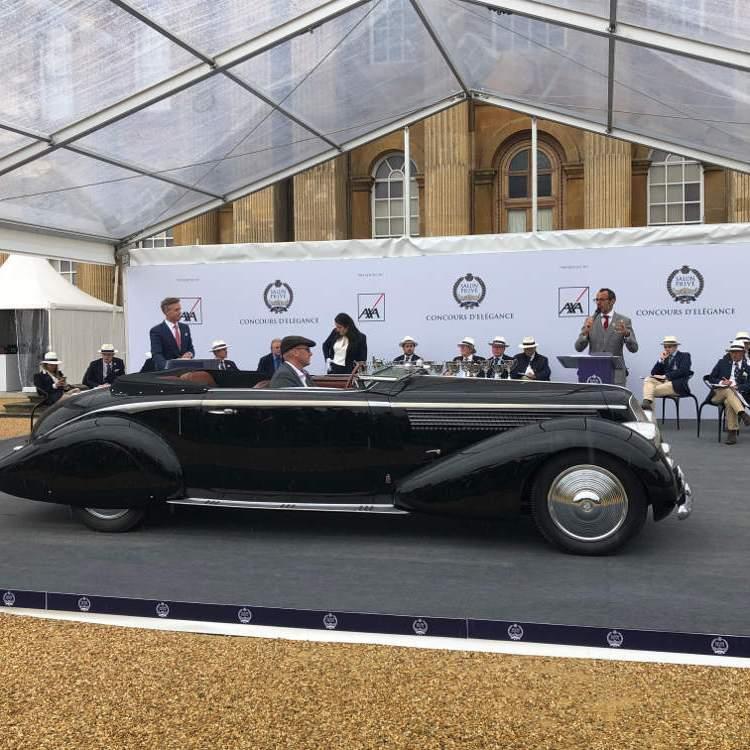 Salon Prive 2020 1936 Lancia Astura Pinin Farina Bocca Cabriolet