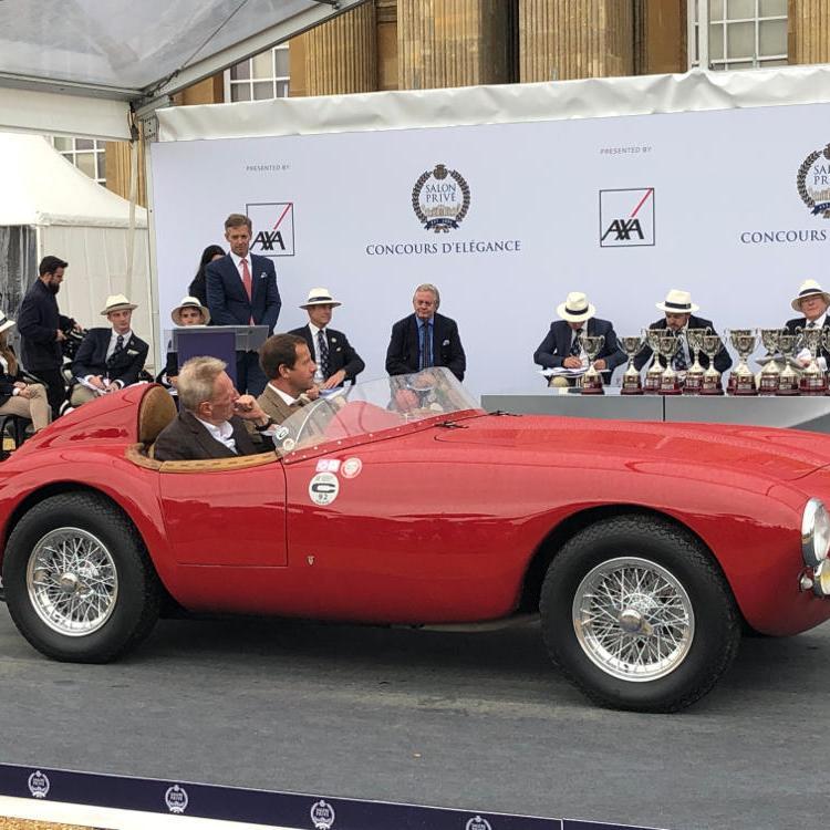 Salon Prive 2020 1951 Ferrari 212 Export Vignale Barchetta