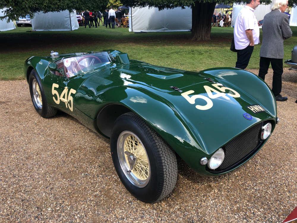 concours of elegance 2020 1955 HWM Jaguar