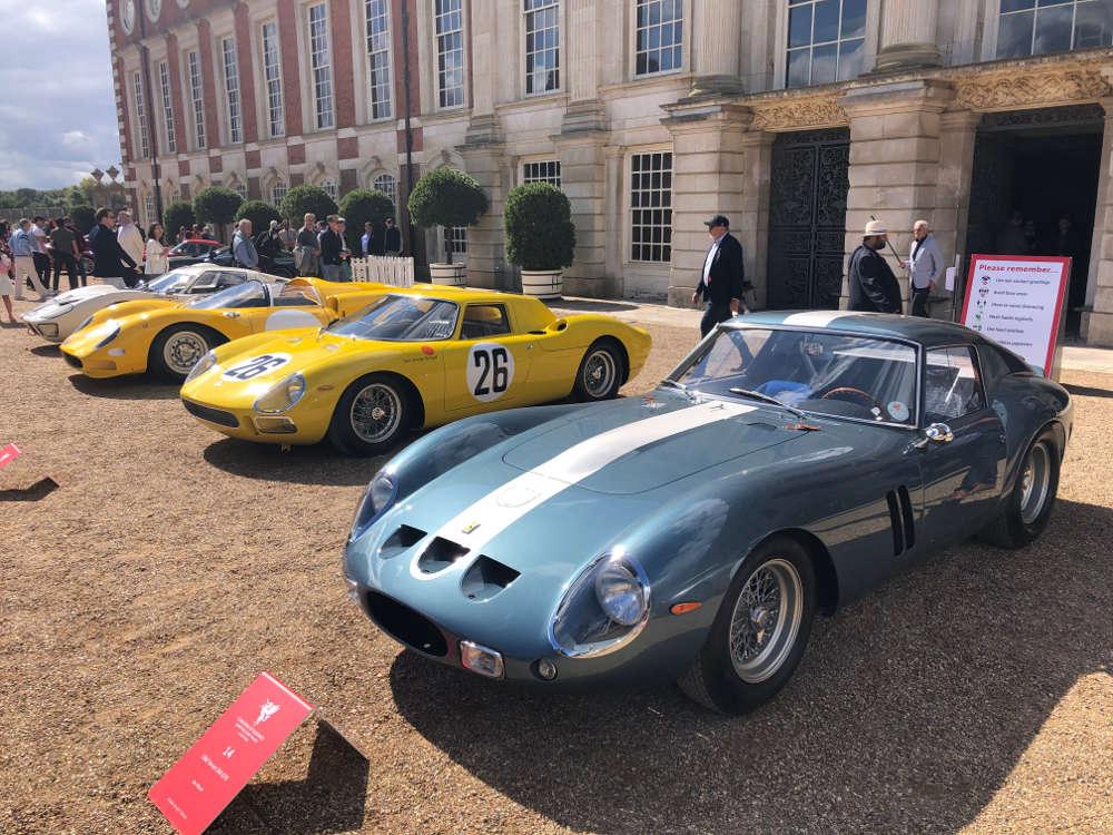concours of elegance 2020 1962 ferrari 250 GTO