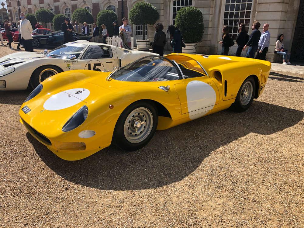 concours of elegance Ferrari 365 P2 Spyder