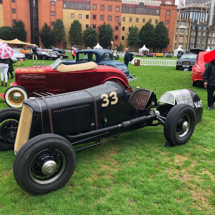 London Concours Honourable Artillery Company 2020 classic car