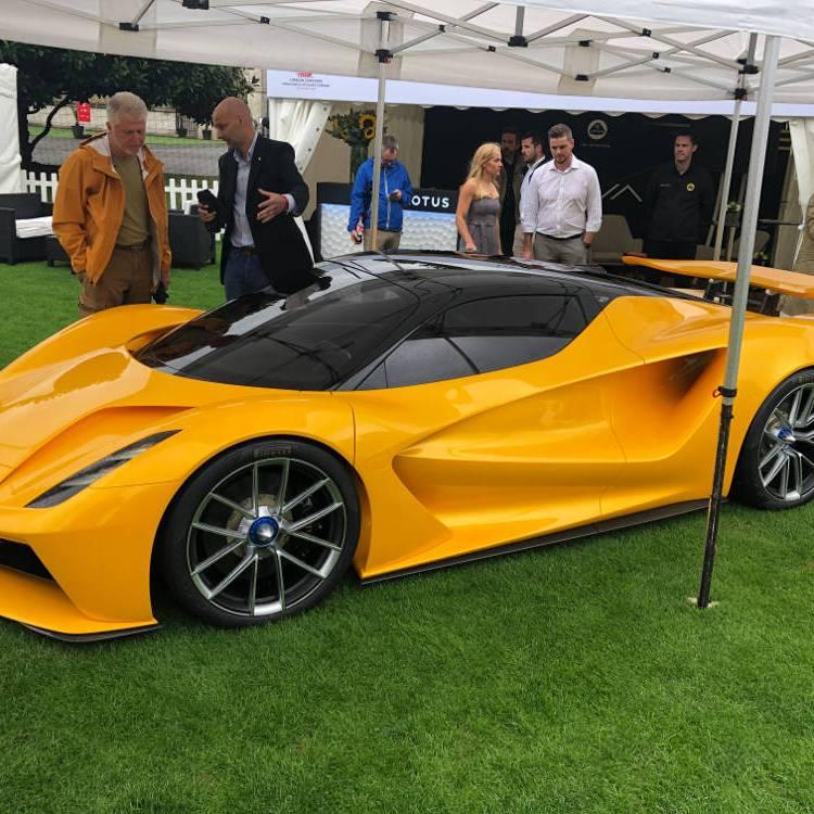London Concours Honourable Artillery Company 2020 modern sports car