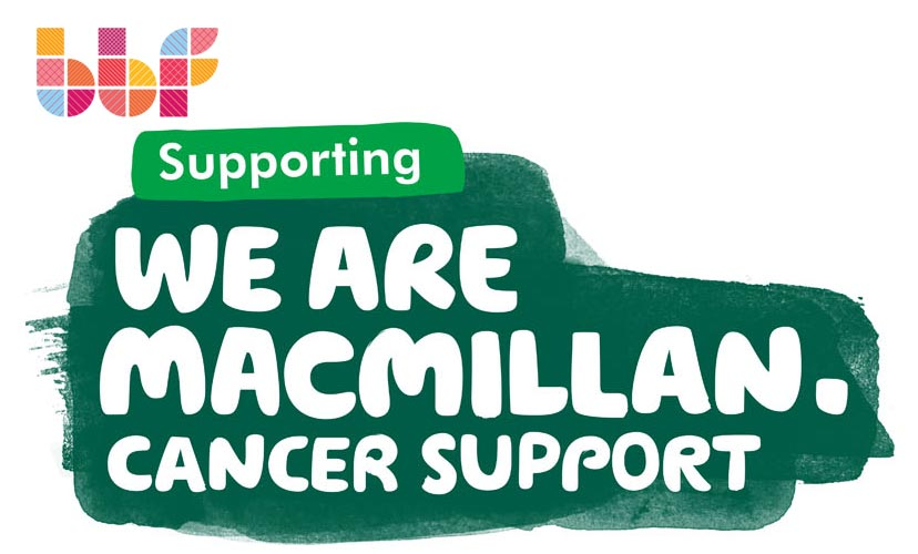 BBF supports Macmillan Cancer Support