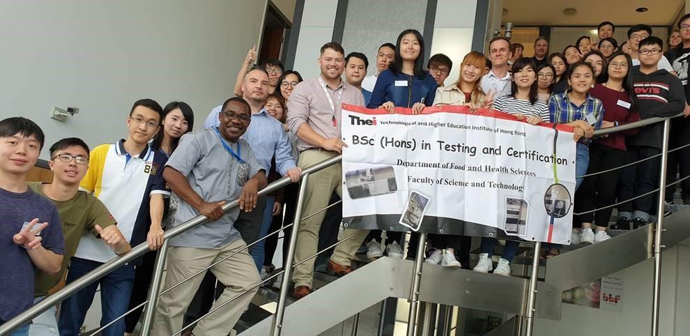 Hong Kong University Visit to BBF